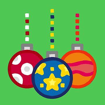 Christmas Balls by Celesten