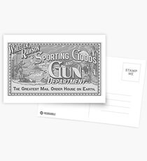 Wheeler Rawson and Co - Sporting Goods and Gun Department (RDR2) Postcards