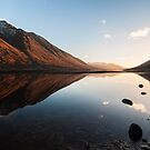 Sunset At Loch Etive by Mark Greenwood