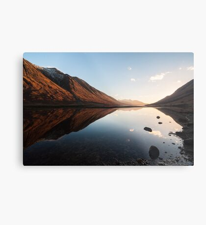 Sunset At Loch Etive Metal Print