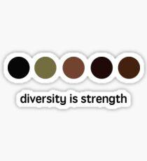 Diversity is strength Sticker
