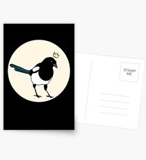 King Magpie Postcards