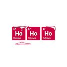 HoHoHo! Periodic Table Elements (Inverted) by science-gifts