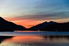 Sunset Over Loch Leven by Mark Greenwood