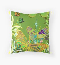 Butterfly Jewels 2010-01-07 Throw Pillow
