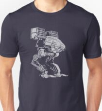 caturpult (white) Unisex T-Shirt