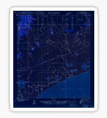 USGS TOPO Map Louisiana LA Abbeville SE 333607 1932 31680 Inverted Sticker