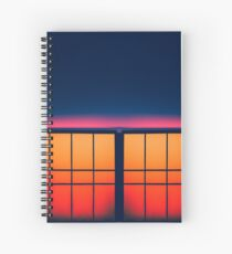 Night city Blocks Spiral Notebook