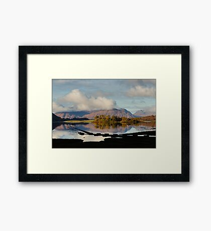 Clouds Over Ardgour Framed Print