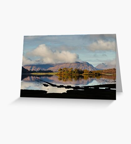 Clouds Over Ardgour Greeting Card