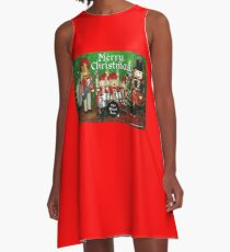 The Mixed Nutz A-Line Dress