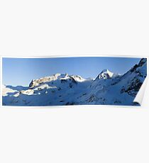 Monte Rosa and Lyskamm Poster