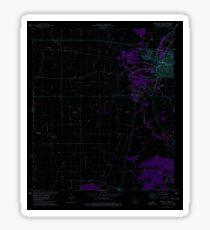 USGS TOPO Map Louisiana LA Abbeville West 331238 1975 24000 Inverted Sticker