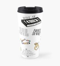 Brooklyn Nine Nine TV Show Art Travel Mug