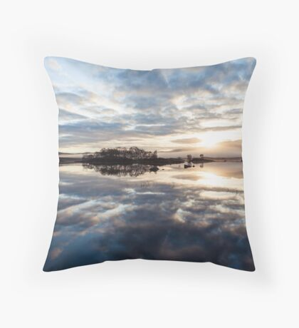 Explosion In A Cloud Factory Throw Pillow