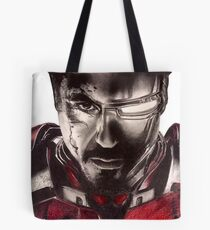Man & Iron Tote Bag