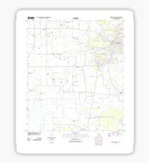 USGS TOPO Map Louisiana LA Abbeville West 20120328 TM Sticker