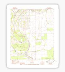 USGS TOPO Map Louisiana LA Acme 331240 1982 24000 Sticker