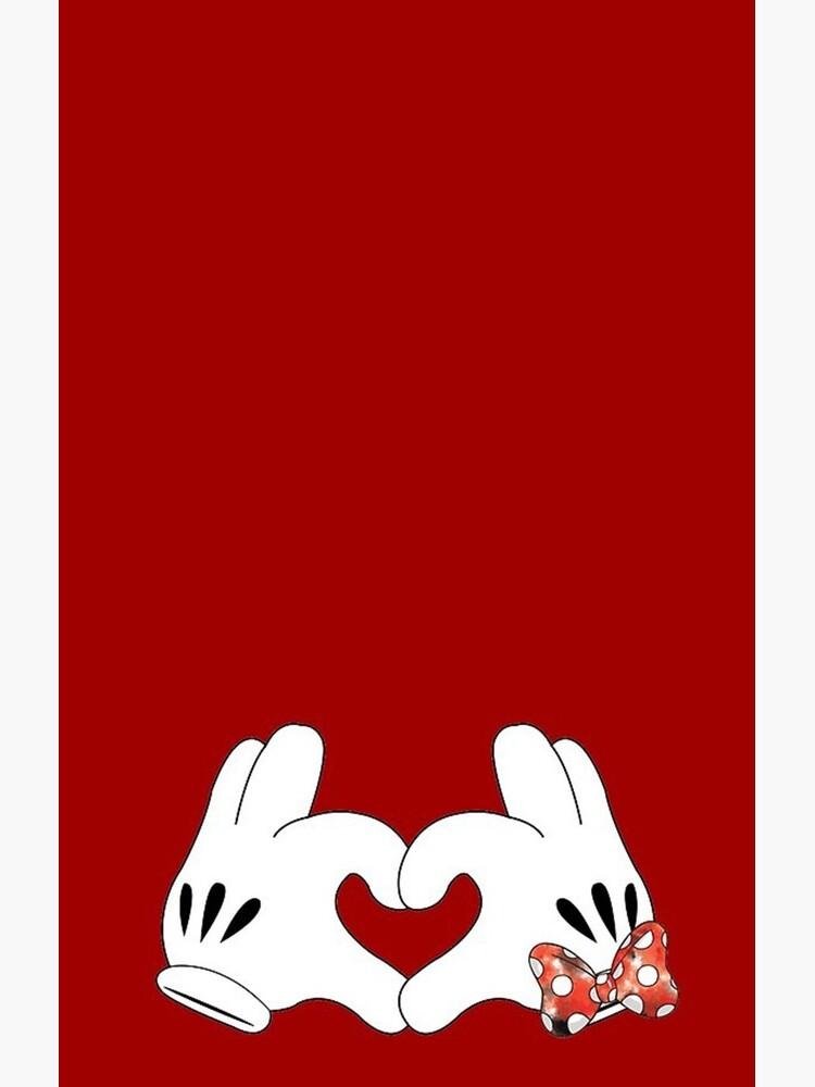 Minnie und Mickey Love von imlkd