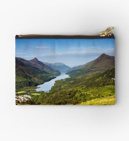 Kinlochleven and The Pap Of Glencoe Zipper Pouch