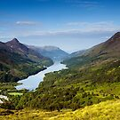Kinlochleven and The Pap Of Glencoe by Mark Greenwood
