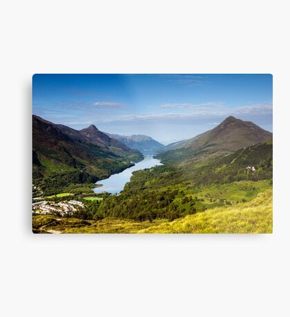 Kinlochleven and The Pap Of Glencoe Metal Print