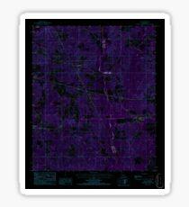 USGS TOPO Map Louisiana LA Ada 331241 1986 24000 Inverted Sticker