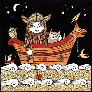 Veras Viking Voyage by AnitaInverarity