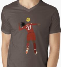 Origi YNWA T-Shirt mit V-Ausschnitt