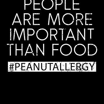 Peanuts Allergy Peanutallergy Peanut Allergy Warning by shoppzee
