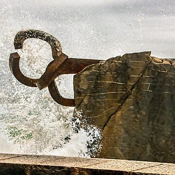 Chillida Comb of the Wind - Tempest by WWestmoreland