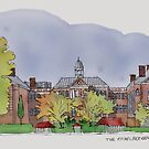 The Eichelberger Academy, Hanover, PA Urban Sketch by Judy Boyle