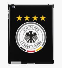 DEUTSCHLAND FUSSBALL iPad-Hülle & Skin