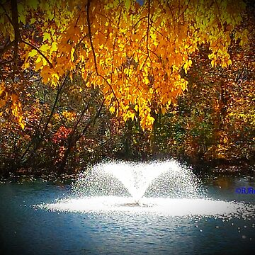 """"""" Fall Fountain """" by Dloneger"""