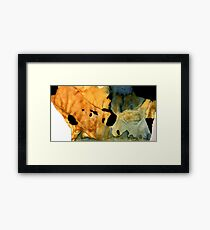 etude: homage to henry cowell Framed Print