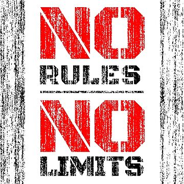 No Rules No Limits by anziehend