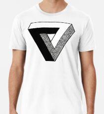 Penrose Triangle △ Premium T-Shirt