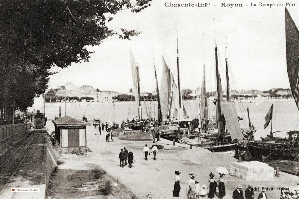 « Port de Royan, années 1900 » par Francois Richet