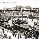 « Port de Royan, années 1900 (2) » par Francois Richet