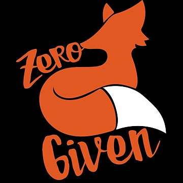 Zero FOX given by Boogiemonst