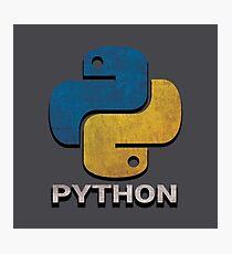 ★ Python Vintage Photographic Print