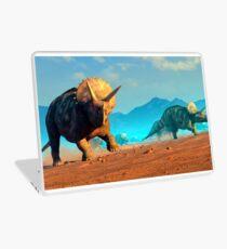Herd of Triceratops Dinosaurs Laptop Skin