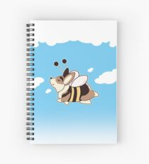 Flying Bee Gus Spiral Notebook