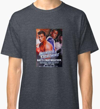 Mayweather vs Arturo Gatti Camiseta clásica