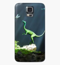 Artwork of Compsognathus Dinosaur Case/Skin for Samsung Galaxy