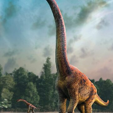 Artwork of Giraffatitan / Brachiosaurus by magarlick