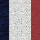 Flag of France, Liberty, Equality, Fraternity, by CecelyBloom