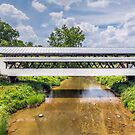 The Johnston Covered Bridge by Kenneth Keifer