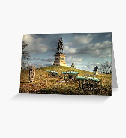 The Battlefield at Gettysburg Greeting Card