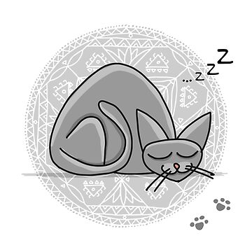 Sleep cat by Kudryashka